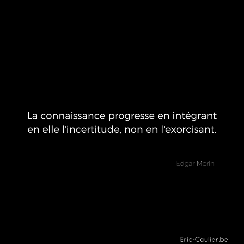 Citation de Edgar Morin